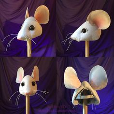 """SHOP PATTERNS NOW ON ETSY RedHen DIY costume and prop patterns. Red Hen DIY sprang out of my experiences teaching others how to make sets, props and costumes for various """"low-budge… Rat Costume, Mouse Costume, Cool Costumes, Stuart Little, Angelina Ballerina, Rat Head, Nutcracker Costumes, Broadway Costumes, Ballet Costumes"""