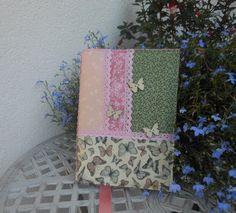 Motýli - obal na knihu Romantický obal na knihu, diář, zápisník...