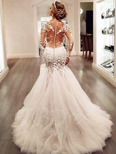 11 Stunning Lace Wedding Dresses | Wedding dresses | Pinterest ...