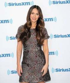 Pin for Later: Can't-Miss Celebrity Pics!  Megan Fox stopped by SiriusXM Studios in NYC on Tuesday.