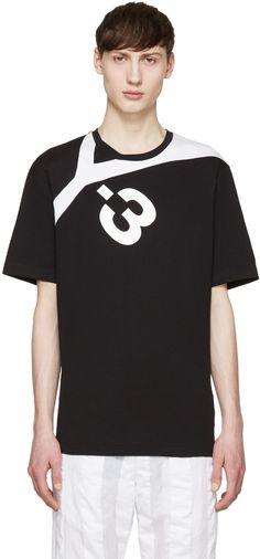 hot sale online 73c40 ab898 Y-3 Black Logo T-Shirt. y-3 cloth