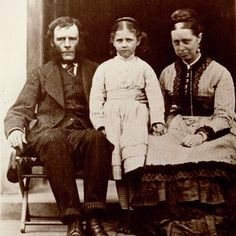 Beatrix With her Father and Mother