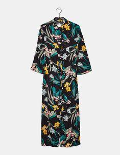 c7e4f5491b64 Εμπριμέ φόρεμα σεμιζιέ Dress Collection