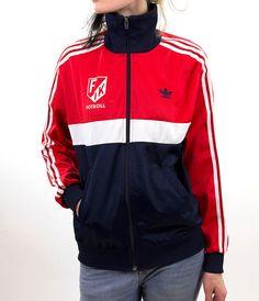 Adidas original jacket red windbreaker tracksuit by GrandpasParty