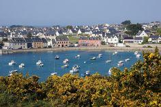 Soleil sur Portsall - Finistère Bretagne