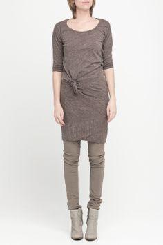 CLAAP › DRESSES|TUNICS › colour coffee