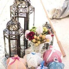 paper lanterns by Papaver Designs