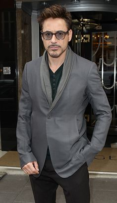 Robert Downey Jr. - in honor of the Iron Man 3 premiere!