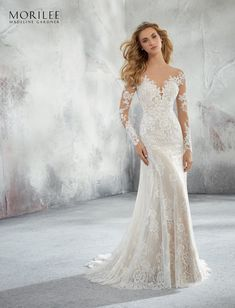 Mori Lee Bridal 8276 wedding dress available at The Castle. We are an authorized retailer for all Mori Lee Bridal dresses and every 8276 is brand new with all original tags! Mori Lee Bridal, Mori Lee Wedding Dress, Lace Wedding Dress, Fit And Flare Wedding Dress, Long Sleeve Wedding, Bridal Wedding Dresses, Wedding Dress Styles, Wedding Venues, Wedding Photos
