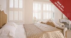 For window covering, window shutters are widely used in many households leaving a sophisticated outlook to the home.