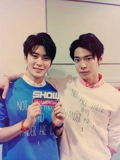 Doyoung and Jaehyun