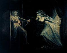 Johann Heinrich Füssli   - Lady Macbeth Seizing the Daggers.