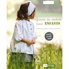 """Livre """"Grains de Couture pour Enfants"""", Ivanne SOUFFLET (Créapassions) - cover"""