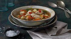 Hledáte-li pokrm na zahřátí, navštivte Kuchyni Lidlu. Najdete tu recept na skvělou kuřecí polévku se zázvorem a kuřecími knedlíčky!