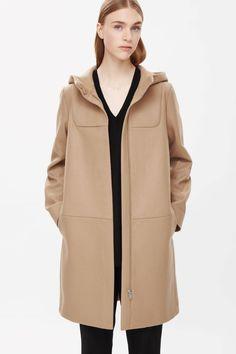 4ec16d6f4592 Картинки по запросу cos trench coat with hood Hooded Trench Coat, Duffle  Coat, Contemporary