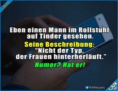 Er weiß wie man's macht! :) #Humor #Humorhater #lustigeSprüche #lustiges #flirten