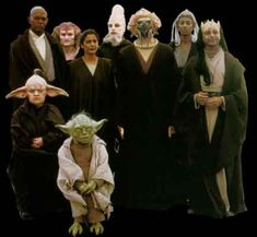 The jedi Council Members