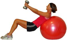 Quick exercises using resistance bands and light weights