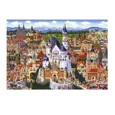Puzzle Lif Jigsaw Puzzles 108 Pieces Germany Landmarks Collection Naoki Tanaka