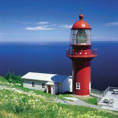 Le phare de Pointe-à-la-Renommée, Gaspésie