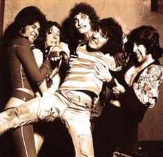 The Sensational Alex Harvey Band (Chris Glen, Hugh McKenna, Zal Cleminson, Alex Harvey, Ted McKenna) (uncredited photo) Macbeth Witches, Alex Harvey, Music Production Companies, The Ed Sullivan Show, Thing 1, Best Rock, Black Kids, Motown, Classic Rock