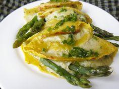 Crespelle agli asparagi in crema – Ricette Vegan – Vegane – Cruelty Free