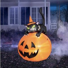 63853 large halloween ghost inflatable airblown yard decoration 7
