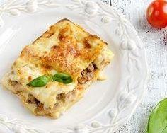 Lasagnes fondantes au crabe et béchamel