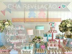 Descubra como organizar o seu Chá de Revelação! #chá de revelação, #chá revelação, #decoração, #faça você mesmo,