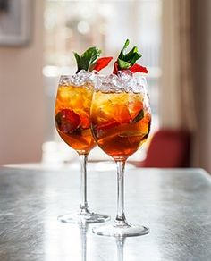 Aperol Spritz at York & Albany #cocktail #aperol #drink #summer #fun #friends #London #GordonRamsay