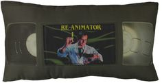 Horror Decor - *VHS Pillow WITHOUT Movie Label