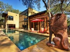 Austin House Rental: The Lofthouse: Bali Meets Austin In This Spectacular Artist's Retreat | HomeAway Luxury Rentals