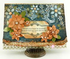 card by Candy... gorgeous!