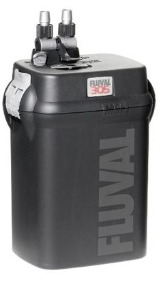 $120.28-$269.99 Fluval 305 External Canister Filter - 110V, 260 gallons per hour - The Fluval 305 Aquarium Canister Filter offers advanced pumping technology and a versatile combination of mechanical, biological and chemical filtering capabilities for aquariums up to 70 gallons. This versatility enables you to customize your aquarium environment to meet the specialized needs of your unique collec ...