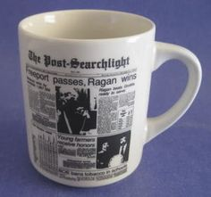 Bainbridge GA The Post Searchlight News 10 oz Coffee Cup Mug