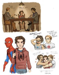 Peter's life if he joined the avengers sooner (small sob)