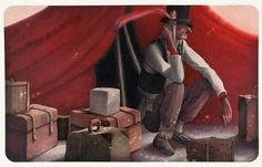 Rebecca Dautremer - Illustration - Une Bible - Abraham