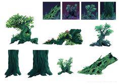 ArtStation - Foliage assets , Jessica Wong