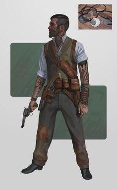 Картинки по запросу gunslinger concept