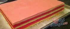 Recept Punčový řez jako z cukrárny God, Castle Diaper Cakes, Cream Pie, Cake Shop, Pies