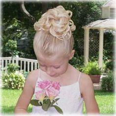 Little Princess Updo Hairdo