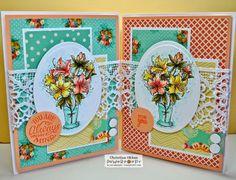 ChristineCreations: Vases of Azaleas
