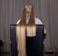 Long Hair Trim, Long Hair Cuts, Long Hair Styles, Cutting Hair, Super Long Hair, Amazing Hair, Hair Transformation, Shearing, Hair Pictures