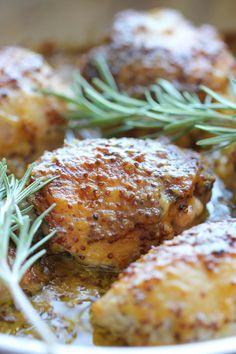 Baked Honey Mustard Chicken - Damn Delicious