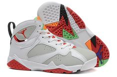 "972378e764f793 2015 Air Jordan 7 Retro ""Hare"" White Light Silver-True Red For Sale from  Reliable Big Discount! 2015 Air Jordan 7 Retro ""Hare"" White Light  Silver-True Red ..."