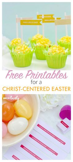 Free Printables for a Christ-Centered Easter