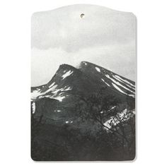 Chopping Board--Mountain scene