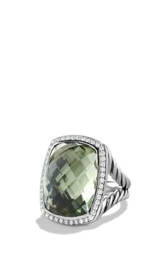 David Yurman 'Albion' Ring with Diamonds available at #Nordstrom