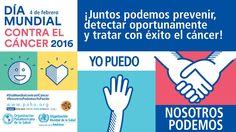 """Día Mundial contra el Cáncer 2016 """"Nosotros podemos, yo puedo"""", ¡participa! - http://plenilunia.com/novedades-medicas/dia-mundial-contra-el-cancer-2016-nosotros-podemos-yo-puedo-participa/39148/"""