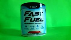 RSP Fast Fuel Pre-Workout Review (Energy Supplement)